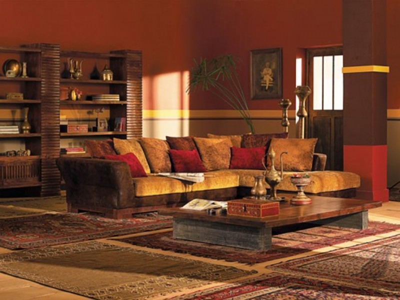 Traditional Indian Home Decorating Ideas. Ethnic Indian Living Room Designs  Interior Design Ideas